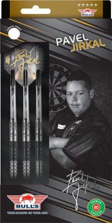 Bull's NL Šípky Steel Pavel Jirkal - Black - 23g