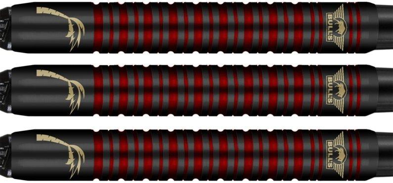Bull's NL Šípky Kim Huybrechts - Black Titanium - 20g