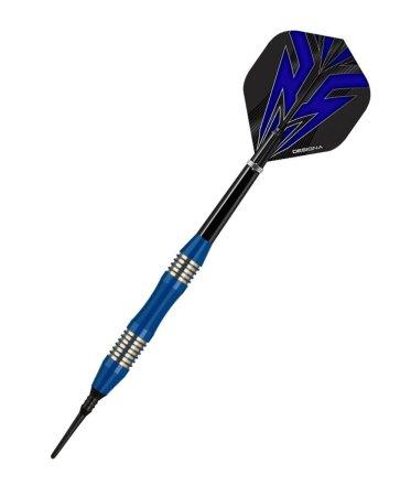 Designa Šípky Mako - Micro - Blue - 21g