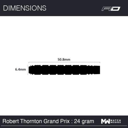 Red Dragon Šípky Steel Robert Thornton - Grand Prix SE - 24g