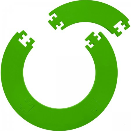 Designa Surround - kruh okolo terča - Jigsaw - Green