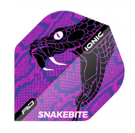 Red Dragon Letky Peter Wright Snakebite Ionic - Snake Purple RF6570
