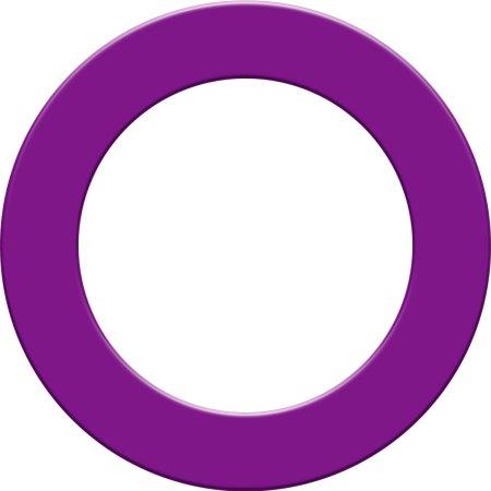 Designa Surround - kruh okolo terča - Purple