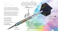 Unicorn Šípky Steel Code DNA - Gary Anderson - 21g