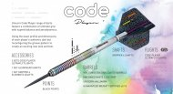 Unicorn Šípky Steel Code DNA - Ian White - 21g