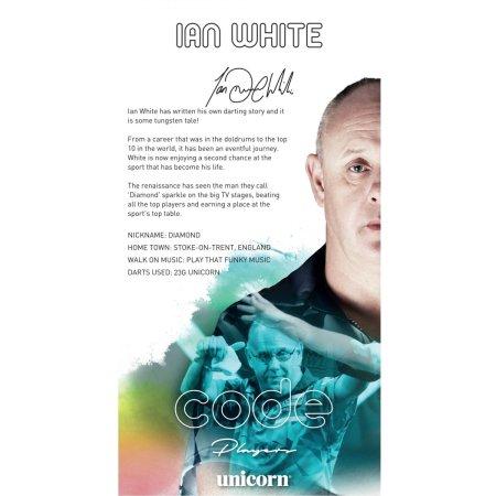 Unicorn Šípky Steel Code DNA - Ian White - 23g