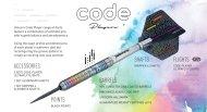 Unicorn Šípky Steel Code DNA - Seigo Asada - 25g