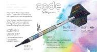 Unicorn Šípky Code DNA - James Wade - 20g
