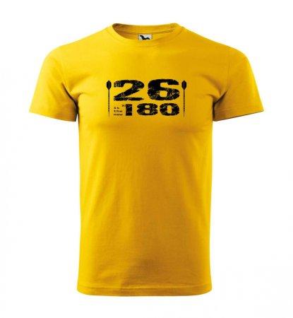 Malfini Tričko s potlačou - 26 - yellow - 3XL