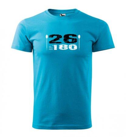 Malfini Tričko s potlačou - 26 - turquoise - XXL