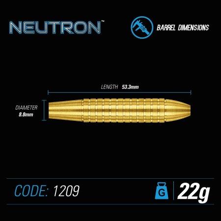 Winmau Šípky Steel Neutron - Style 2 - 22g