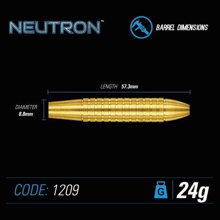 Winmau Šípky Steel Neutron - Style 2 - 24g