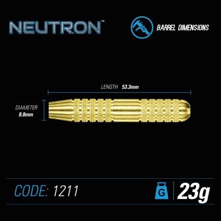 Winmau Šípky Steel Neutron - Style 4 - 23g