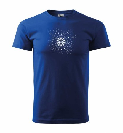 Malfini Tričko s potlačou - Motiv 9 - blue - XS
