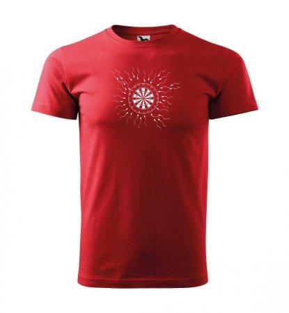 Malfini Tričko s potlačou - Motiv 9 - red - S