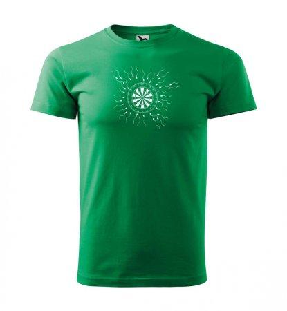 Malfini Tričko s potlačou - Motiv 9 - green - XS