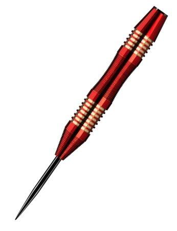 Designa Šípky Steel Mako - Micro - Red - 23g
