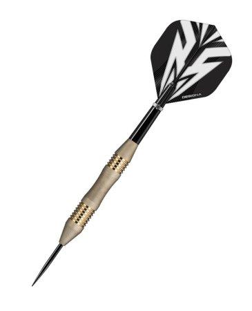 Designa Šípky Steel Mako - Micro - Silver - 25g