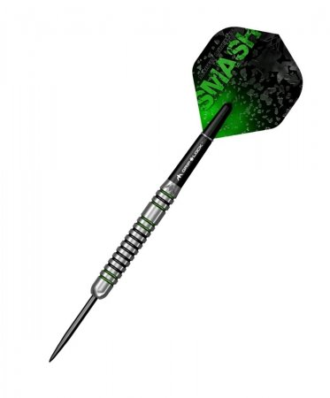 Mission Šípky Steel Martin Lukeman - Black & Green - 25g