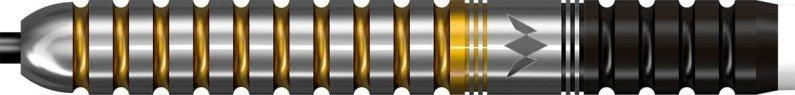 Mission Šípky Steel Brett Claydon - Black & Gold - 22g