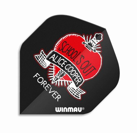 Winmau Letky Rock Legends - Alice Cooper Schools Out - W6905.212