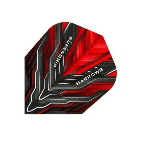 Harrows Letky Supergrip Ultra No6 - Red F3175