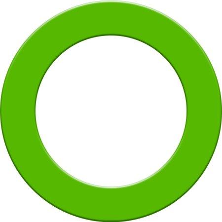 Designa Surround - kruh okolo terča - Green