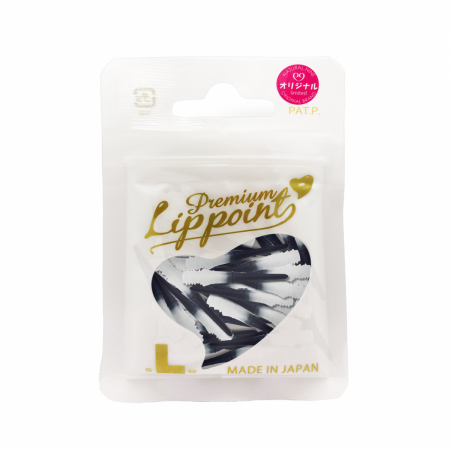 L Style Hroty Lip Point Premium Natural Nine - 30 ks - red white