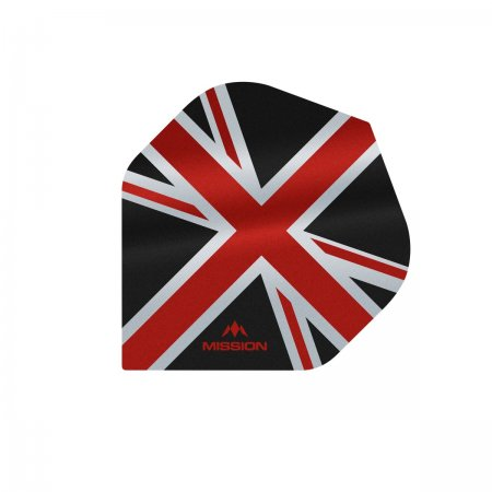 Mission Letky Alliance Union Jack - Black / Red F3082