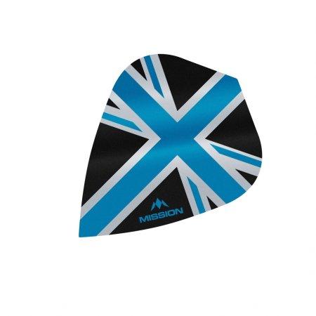 Mission Letky Alliance Union Jack - Black / Blue F3089