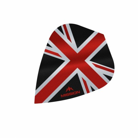 Mission Letky Alliance Union Jack - Black / Red F3090