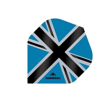 Mission Letky Alliance-X Union Jack - Blue / Black F3105