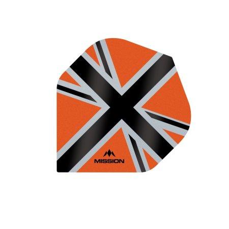Mission Letky Alliance-X Union Jack - Orange / Black F3108