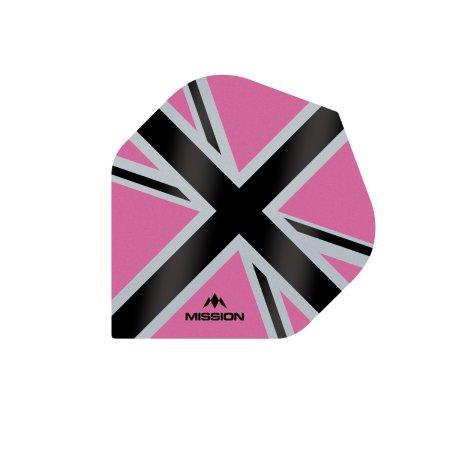 Mission Letky Alliance-X Union Jack - Pink / Black F3110