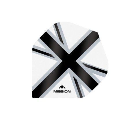 Mission Letky Alliance-X Union Jack - White / Black F3111