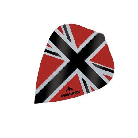 Mission Letky Alliance-X Union Jack - Red / Black F3113