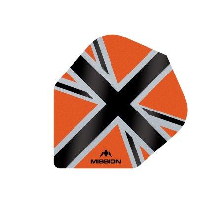 Mission Letky Alliance-X Union Jack No6 - Orange / Black F3122
