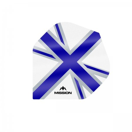 Mission Letky Alliance Union Jack - White / Blue F3126