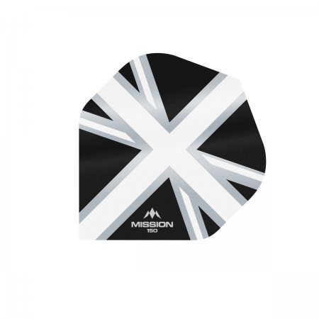 Mission Letky Alliance Union Jack - 150 - Black / White F3136