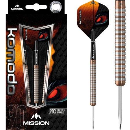 Mission Šípky Steel Komodo GX - M1 - 26g