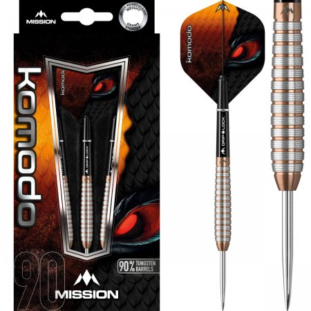 Mission Šípky Steel Komodo GX - M2 - 25g
