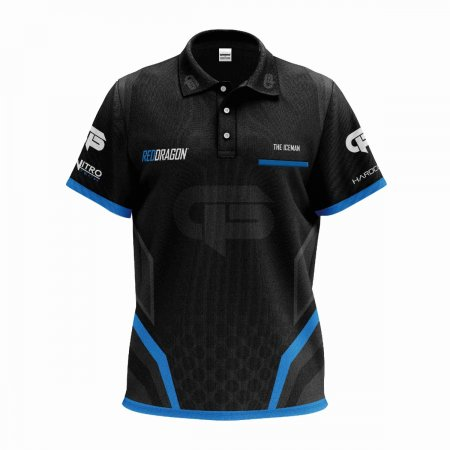 Red Dragon Košeľa Gerwyn Price Iceman Tour - 3XL