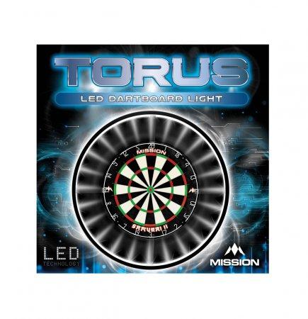 Mission Torus Darboard Light - osvetlenie sisalového terča