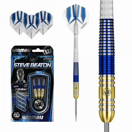 Winmau Šípky Steel Steve Beaton - 22g