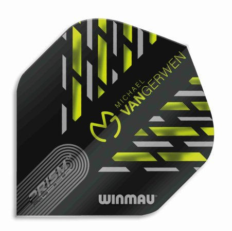 Winmau Letky Prism Alpha - Michael van Gerwen - Black, Green and Grey W6915.180