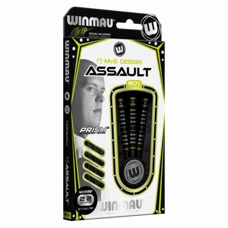 Winmau Šípky Steel Michael van Gerwen - Assault - 22g