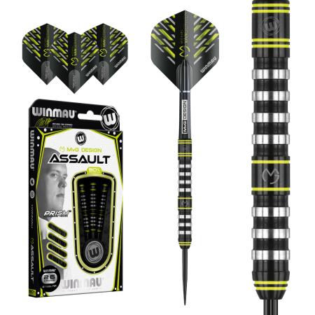 Winmau Šípky Steel Michael van Gerwen - Assault - 26g