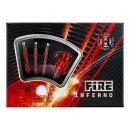 Harrows Šípky Fire Inferno - 18g