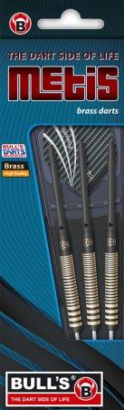 Bull's Šípky Steel Metis - Black - 23g