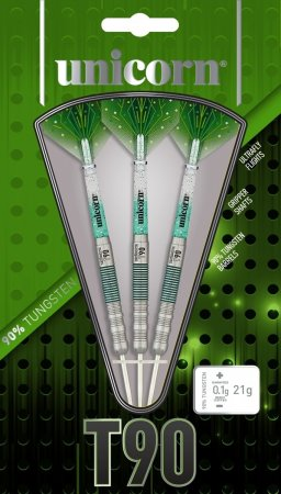 Unicorn Šípky Steel T90 Core XL - Green - Style 2 - 22g